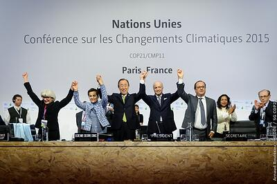 Paris Climate Agreement is adopted