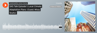 Climate Adaptation Plans Podcast