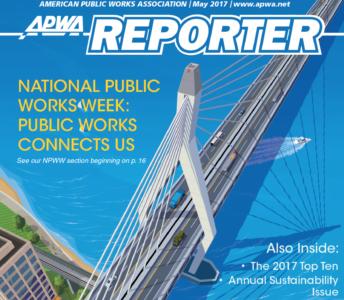 APWA Reporter cover