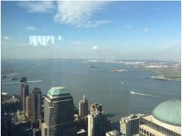 Women's Entrepreneur Festival overlooking New York City