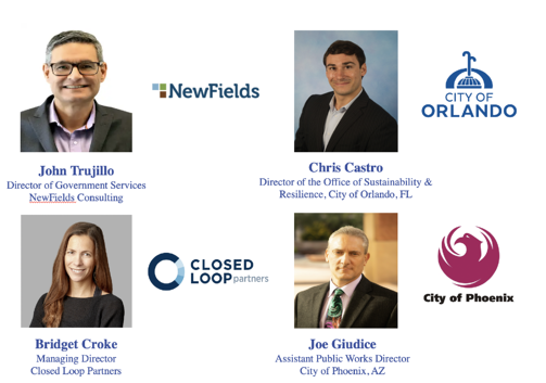 Circular Economy Webinar Speakers headshots
