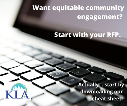 Want equitable community engagement_ Start with your RFP. Well show you how.