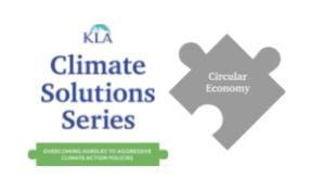 Climate Solutions Webinar June 22: Circular Economy
